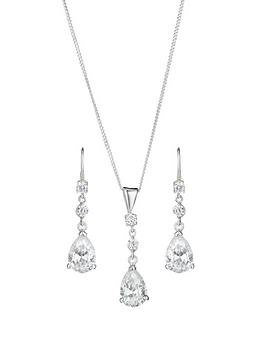 love-gem-sterling-silver-cubic-zirconia-teardrop-earring-and-pendant-set