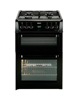 beko-bdvg694kp-60cm-gas-cooker-with-connection-blacknbsp