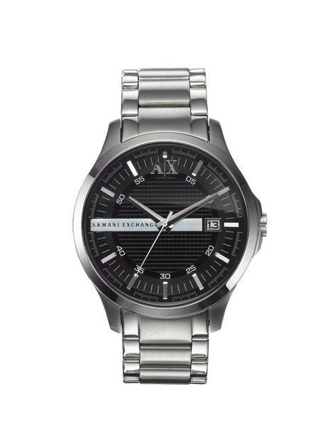 armani-exchange-stainless-steel-black-dial-mens-watch