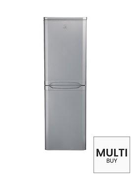 indesit-caa55si-55cm-fridge-freezer-silver