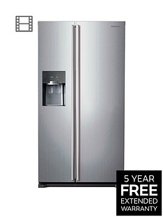 Samsung RS7567BHCSP/EU Frost-Free American-Style Fridge Freezer with Twin Cooling Plus™ System - Silver