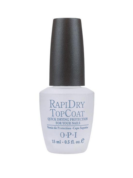 OPI Nail Polish - RapiDry Top Coat 15ml | very.co.uk