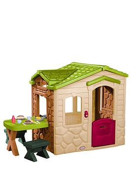 Charming Little Tikes Picnic On The Patio Playhouse | Very.co.uk