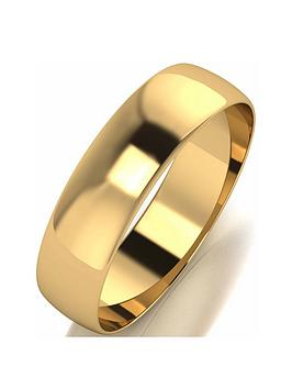 love-gold-10ct-yellow-gold-d-shape-5mm-wedding-band