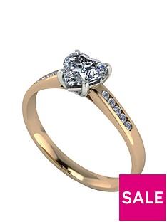 moissanite-11-carat-heart-shape-18-carat-yellow-gold-engagement-ring