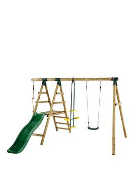 plum-meerkat-wooden-garden-swing-set