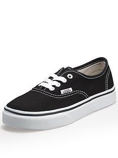 vans-authentic-childrens-trainer-black
