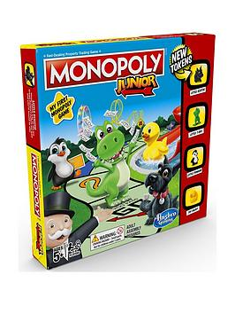 Image of Hasbro Monopoly Junior Game From Hasbro Gaming
