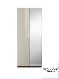 Prague Gloss 2-Door Wardrobe