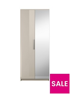 Prague Gloss 2-Door Wardrobe