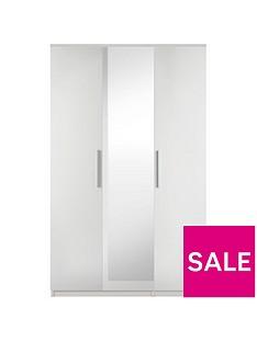 prague-gloss-3-door-mirrored-wardrobe