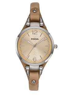 fossil-ladies-georgia-nude-strap-watch