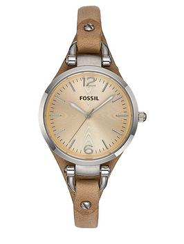 fossil-ladies-georgia-nude-strap-watch