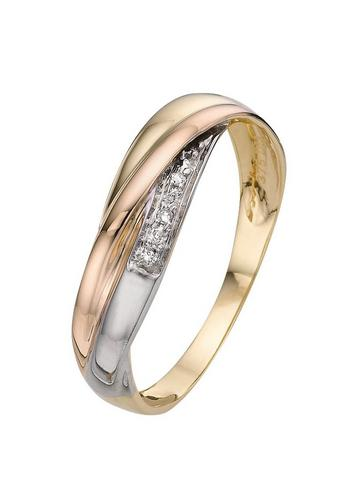 Three Colour Gold Rings Gifts Jewellery Www Very Co Uk