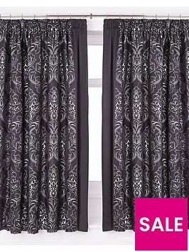 buckingham-lined-pencil-pleat-curtains