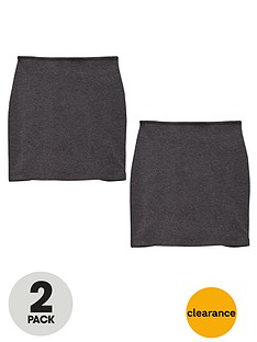top-class-girls-school-uniform-jersey-teen-tube-skirts-2-pack