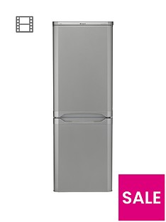 Hotpoint First Edition NRFAA50S 55cm Fridge Freezer - Silver