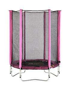 plum-junior-45ft-pink-trampoline-and-enclosure