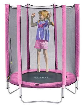 plum-junior-pink-trampoline-and-enclosure