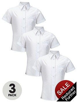 top-class-girls-easy-care-short-sleeve-school-shirts-3-pack