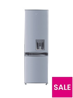 Swan SR5330S 55cm Fridge Freezer with Water Dispenser - Silver