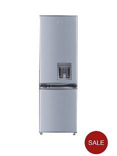 Swan SR5330S 55cm Fridge Freezer with Water Dispenser - Silver