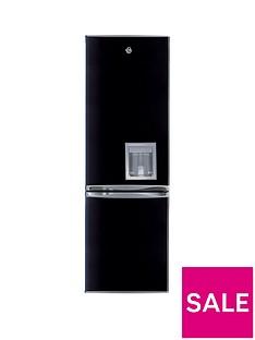 Swan SR5330B 55cm Fridge Freezer with Chilled Water Dispenser - Black