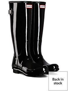 hunter-back-adjustable-gloss-wellies