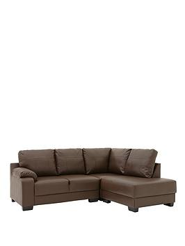 dino-faux-leather-right-hand-corner-chaise-sofa