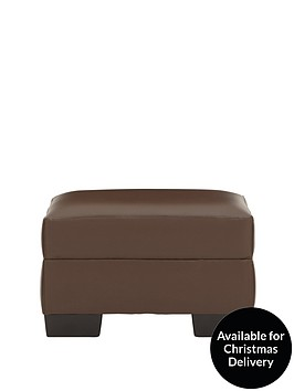 dino-faux-leather-footstool