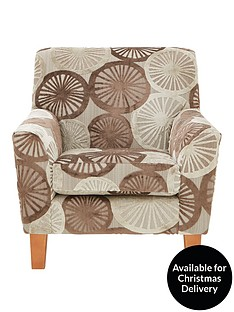 marrakesh-faux-snakeskin-and-fabric-armchair