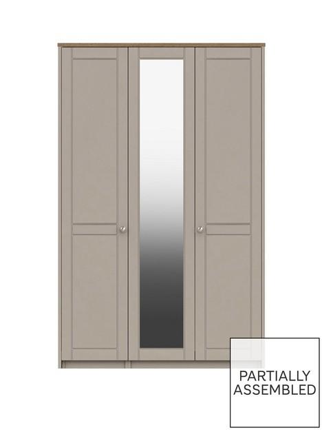 alderley-part-assemblednbsp3-door-mirrored-wardrobe