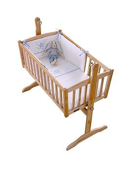 clair-de-lune-stardust-rocking-crib-set