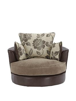 amsin-fabric-and-faux-leather-snuggle-swivel-chair