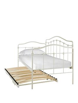 serene-metal-day-bed-and-trundle-guest-bed-with-mattress-option-buy-and-save