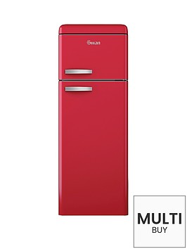 swan-sr11010r-55cm-retro-top-mount-fridge-freezer-red