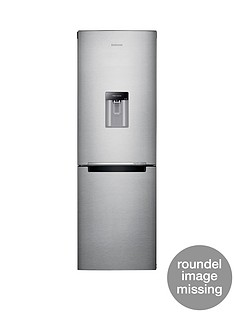 Samsung RB29FWRNDSA/EU 60cm Wide Frost-Free Fridge Freezer with Digital Inverter Technology and 5 Year Samsung Parts and Labour Warranty - Silver
