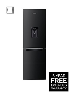 Samsung RB29FWRNDBC/EU60cm Frost-Free Fridge Freezer with Digital Inverter Technology - Black