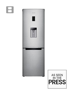Samsung RB31FDRNDSA/EU 60cm Wide Frost-Free Fridge Freezer with Digital Inverter Technology - Silver Best Price, Cheapest Prices