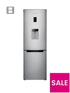 samsung-rb31fdrndsaeu-60cm-wide-frost-free-fridge-freezer-with-digital-inverter-technology-silver