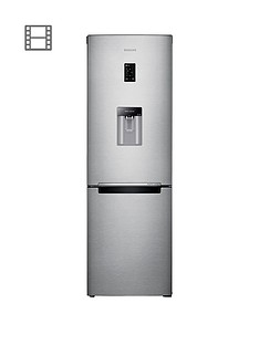 Samsung RB31FDRNDSA/EU 60cm Wide Frost-Free Fridge Freezer with Digital Inverter Technology - Silver