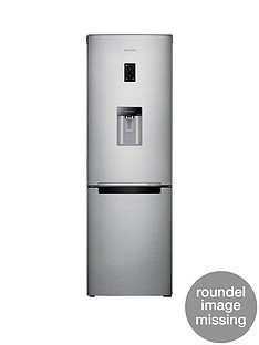 Samsung RB31FDRNDSA/EU 60cmWide Frost-Free Fridge Freezer with Digital Inverter Technology and 5 Year Samsung Parts and Labour Warranty - Silver