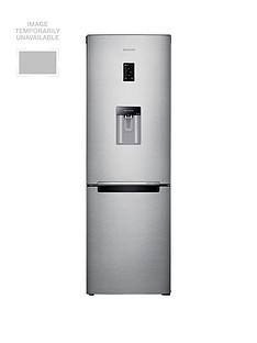 Samsung RB31FDRNDSA/EU 60cm Wide Frost-Free Fridge Freezer with Digital Inverter Technology and 5 Year Samsung Parts and Labour Warranty - Silver
