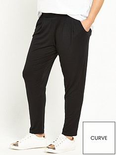07268d51ebc V by Very Curve Jersey Peg Trousers (Available in sizes 14-28)