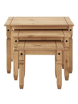 corona-solid-pine-nest-of-3-tables