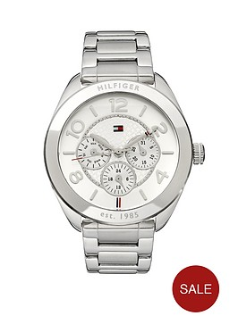 tommy-hilfiger-ladies-stainless-steel-chrono-watch