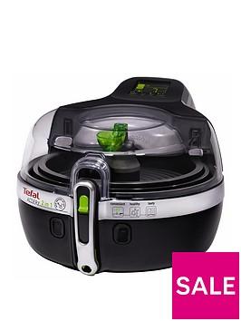 tefal-yv960140-actifry-2-in-1-health-fryer-15kg-capacity-2-cooking-zonesnbsp--black