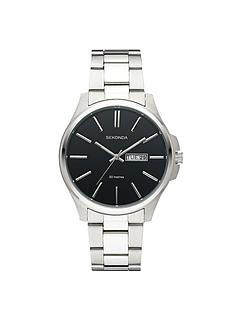 sekonda-mens-black-dial-bracelet-watch