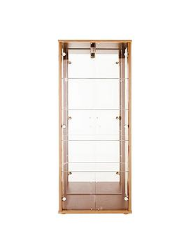 optima-double-glass-door-mirrored-display-unit-dark-brown-or-light-oak-effect