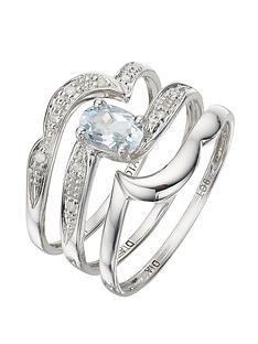 love-gem-9-carat-white-gold-005pt-diamond-and-062-carat-blue-topaz-bridal-set